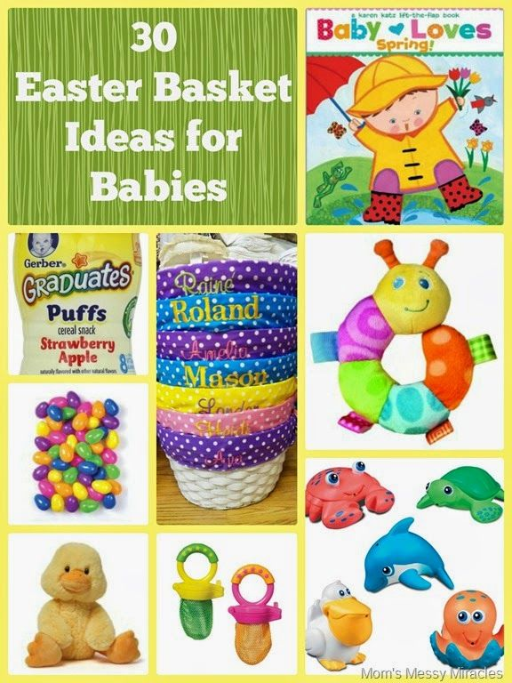 Easter basket ideas for baby basket ideas easter baskets and easter easter basket ideas for baby negle Images