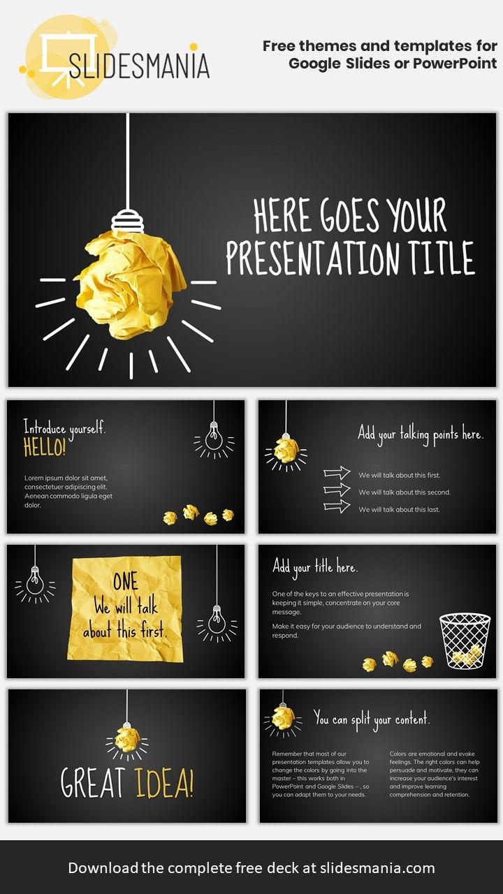 Potter Free Template For Google Slides Or Powerpoint Presentations Powerpoint Design Templates Powerpoint Background Design Powerpoint Slide Designs Free template for google slides