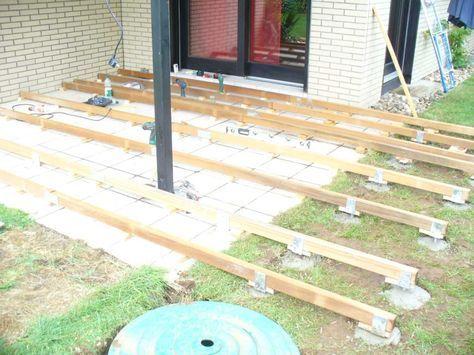 Gartenhaus selber bauen Das Fundament Gartenhaus selber