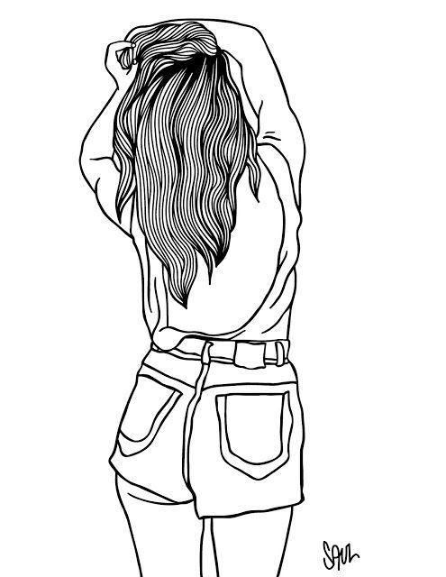 Imagem Relacionada Com Imagens Desenhos De Bonecas Tumblr