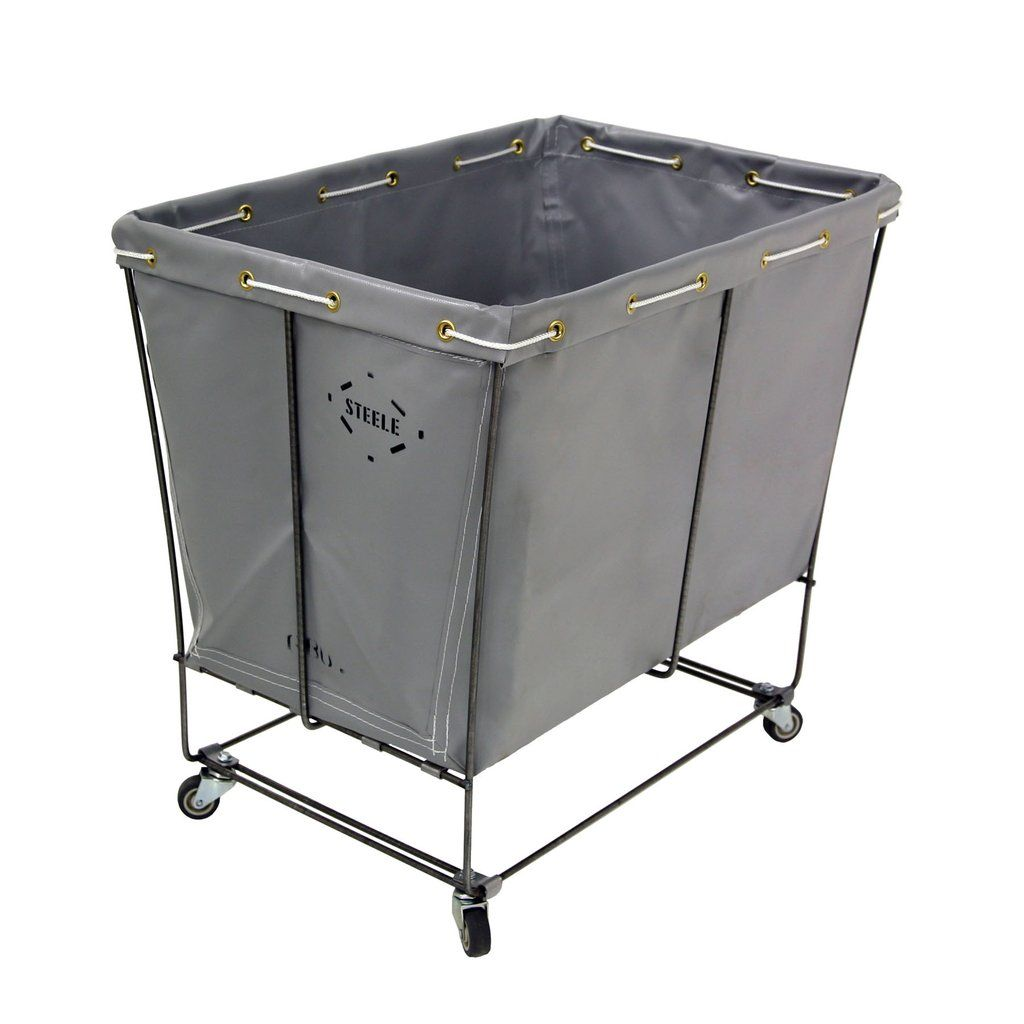 Steeletex Elevated Truck Removable Style 6 Bu Laundry Room