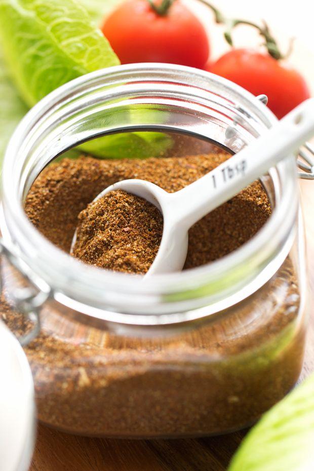 Big Batch Homemade Taco Seasoning Recipe | Little Spice Jar