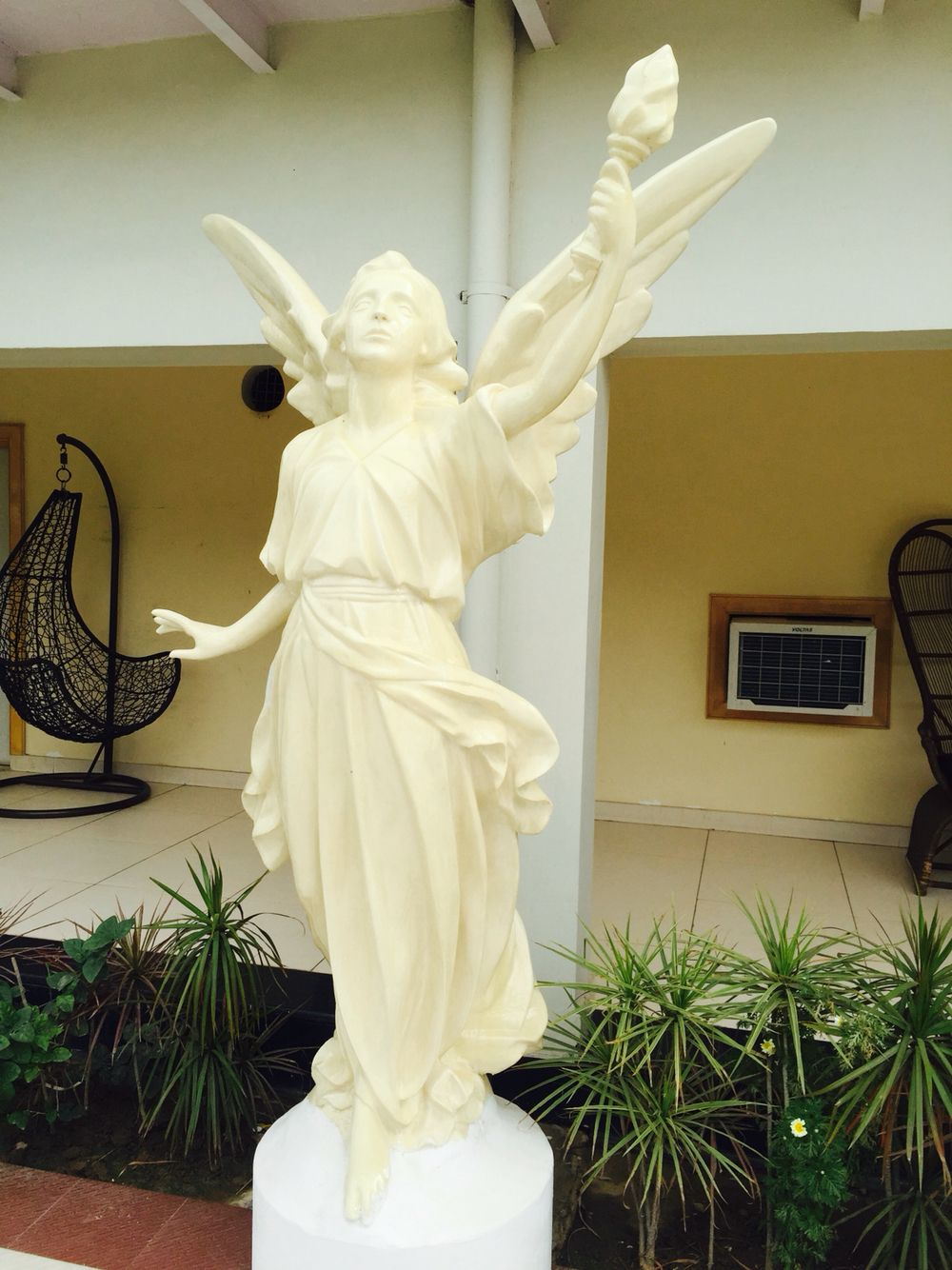 7ft angel sculpture made in EPS foam | Projects | Angel