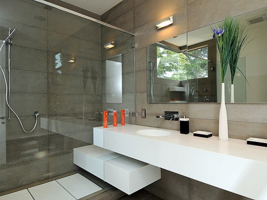 A Modern Bathroom Is Thus Not Only A Place Where People Can Go For A Refreshing Show Bathroom Design Small Modern Modern Bathroom Modern Master Bathroom Design