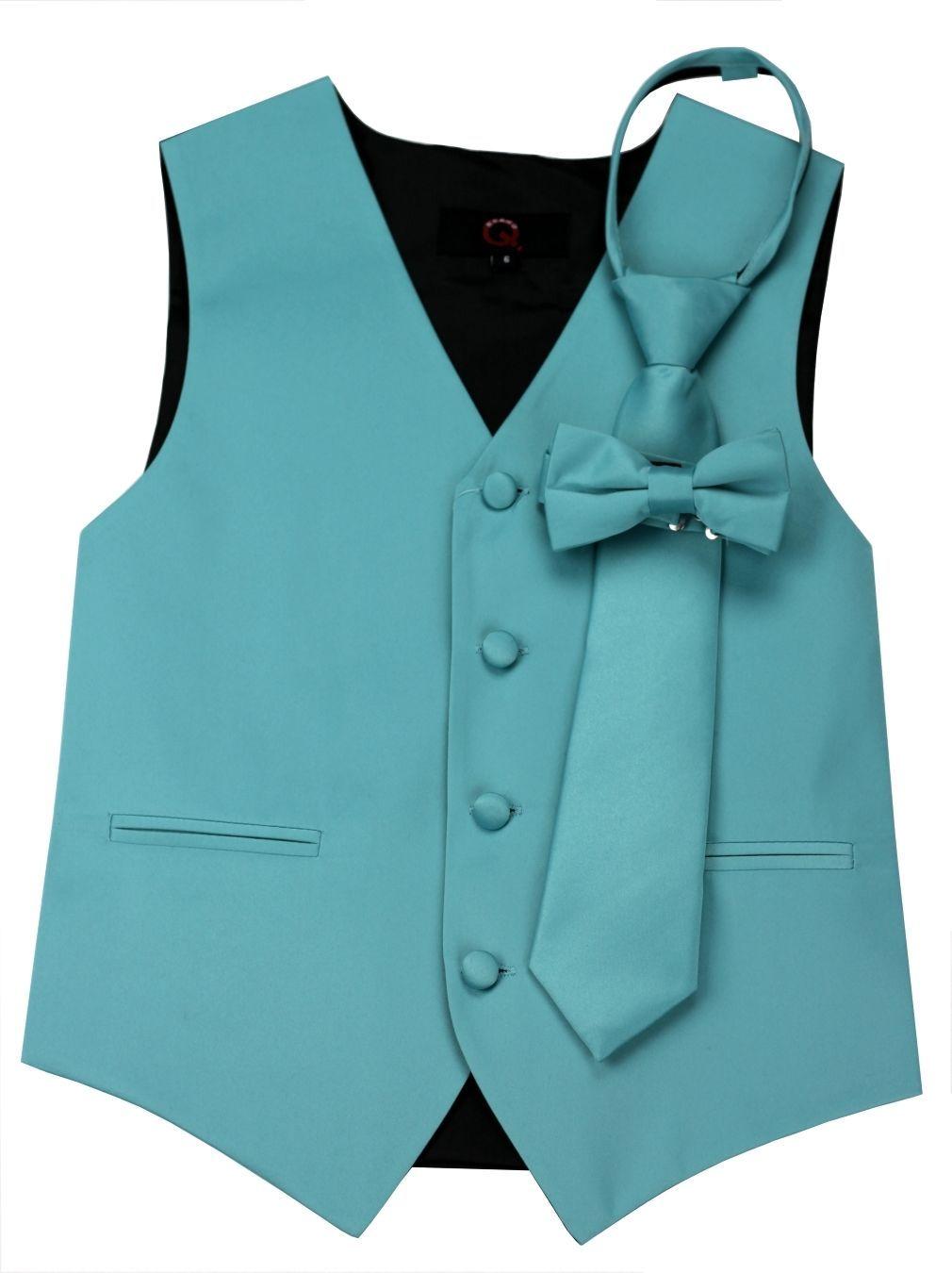 19.25$  Watch now - http://vizfr.justgood.pw/vig/item.php?t=xug4252681 - Sizes: Boy's 4 - Men's 6XL. Italian Design. Teal Tuxedo Vest Set 19.25$