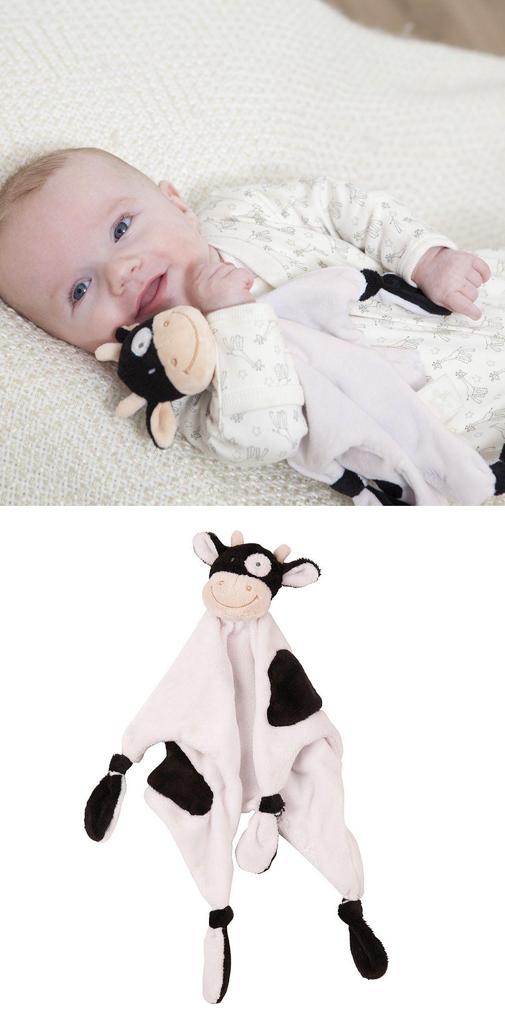 Cow Comforter Baby Comforter Baby Stuffed Animals Quilted Baby