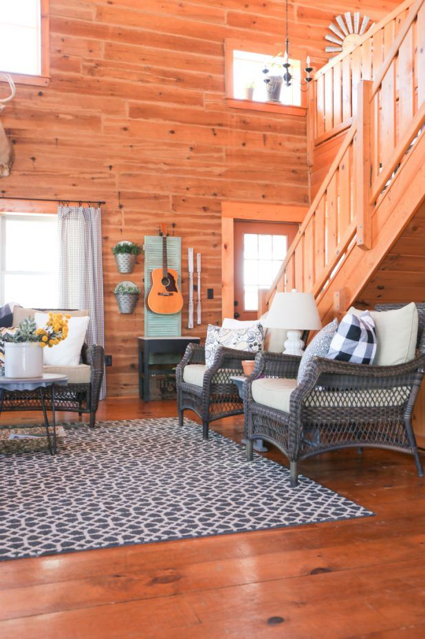 decorating a living room with lawn furniture home decor rh in pinterest com