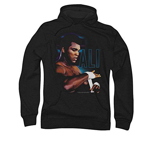 Muhammad Ali Cassius Clay Boxer Taping Up Adult Pull-Over Hoodie - http://bandshirts.org/product/muhammad-ali-cassius-clay-boxer-taping-up-adult-pull-over-hoodie/