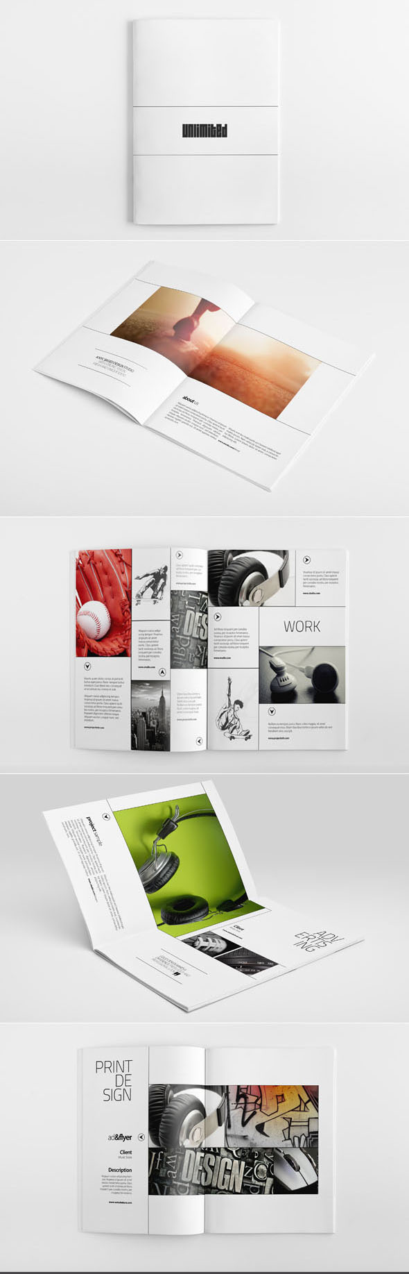 25 Creative Brochure Designs and Design Ideas for your inspiration ...