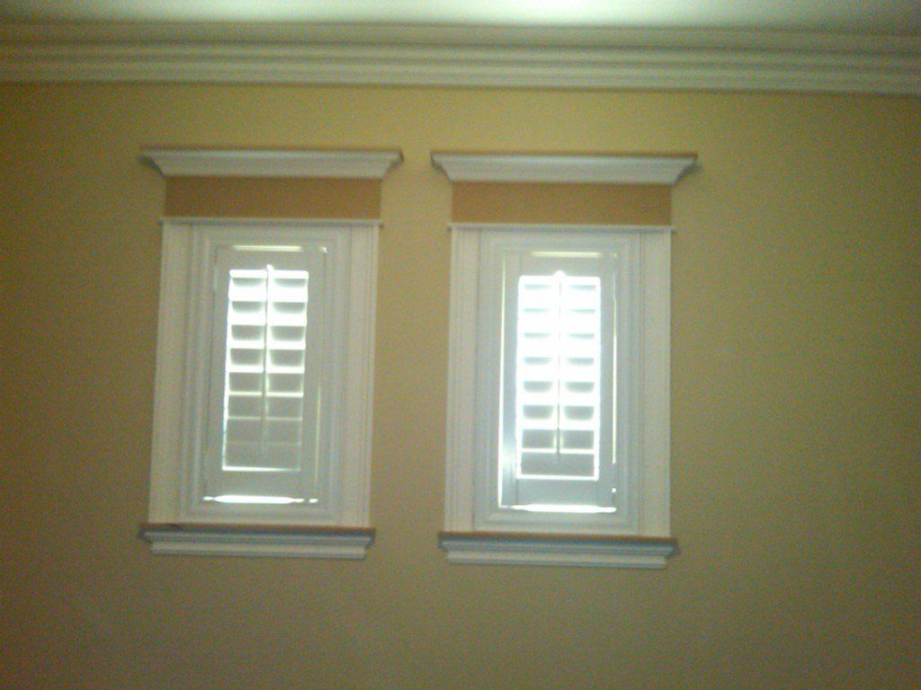 window treatments for windows with molding - Yahoo Image ...