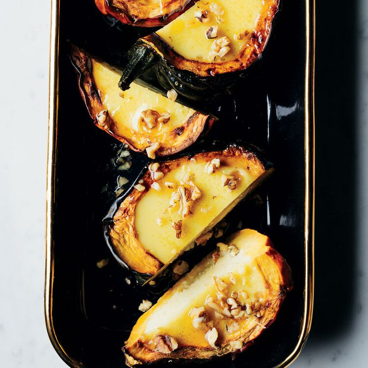Acorn Squash With Coconut Custard Food Wine With Images