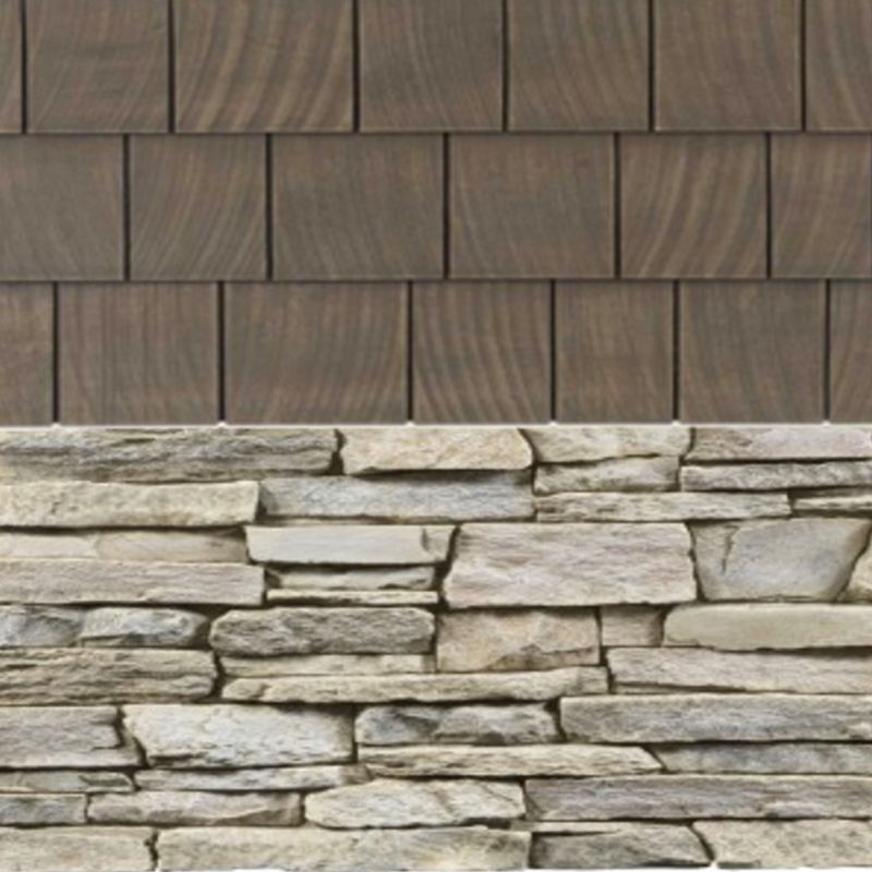 Best Composite Exterior Components Cedar Shakes And Stacked 640 x 480