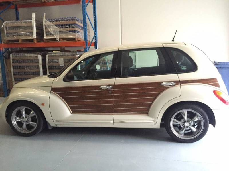 Pt Cruiser Woody Retro Style Lowered Mags 24l Engine Automatic 92 000km New Battery Rego Until 28th October 2016 Build 2004