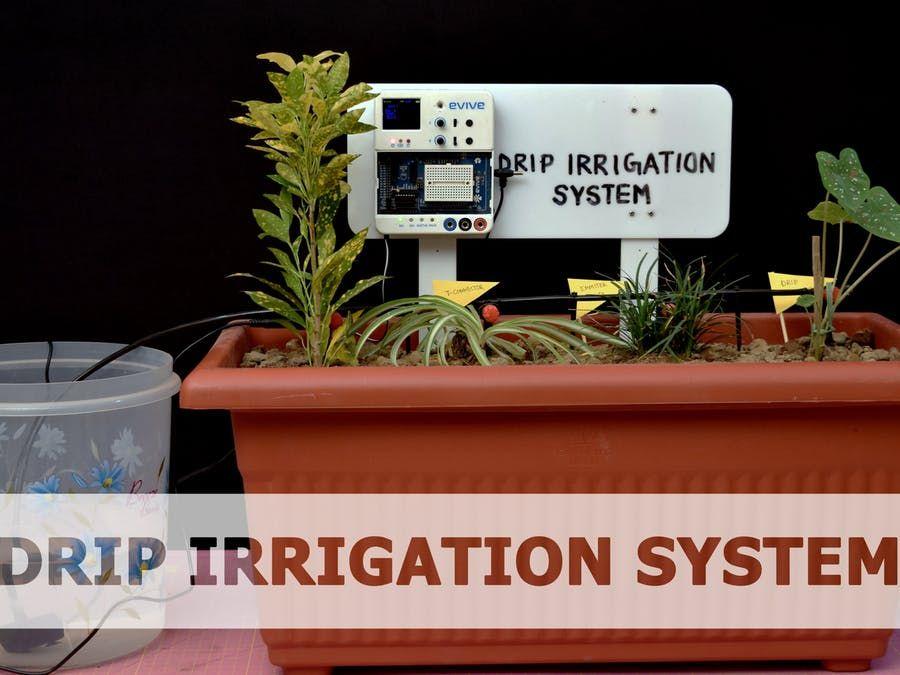 Diy Drip Irrigation System Arudino Projects Irrigation
