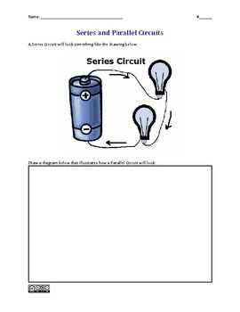 Series And Parallel Circuits Worksheet Elementary Science