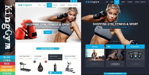 VG Kinggym - фитнес / спорт WordPress тема  ⠀  VG Kinggym – Fitness, Gym and Sport WordPress Theme V...