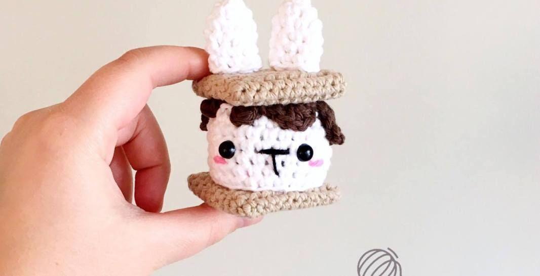 S\'mores Bunny Free Crochet Pattern • Spin a Yarn Crochet | Crochet ...