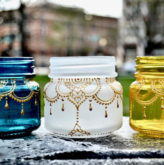 Decorated Mason Jars For Sale On Sale This Mason Jar Lantern Is Handpainted And Is Inspired