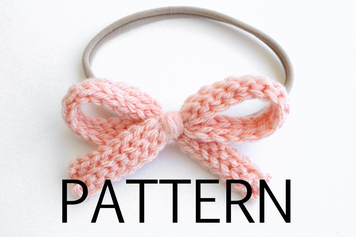Everyday Hair Bow Pattern Crochet Pattern