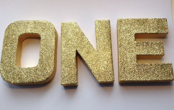Free Standing 1st Birthday First Birthday Decor 13cm Large 1 Wooden Number 1