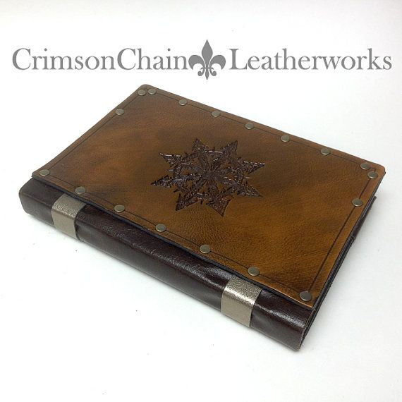 Chaos Star sketchbook cover by Crimson Chain by CrimsonChain, $55.00