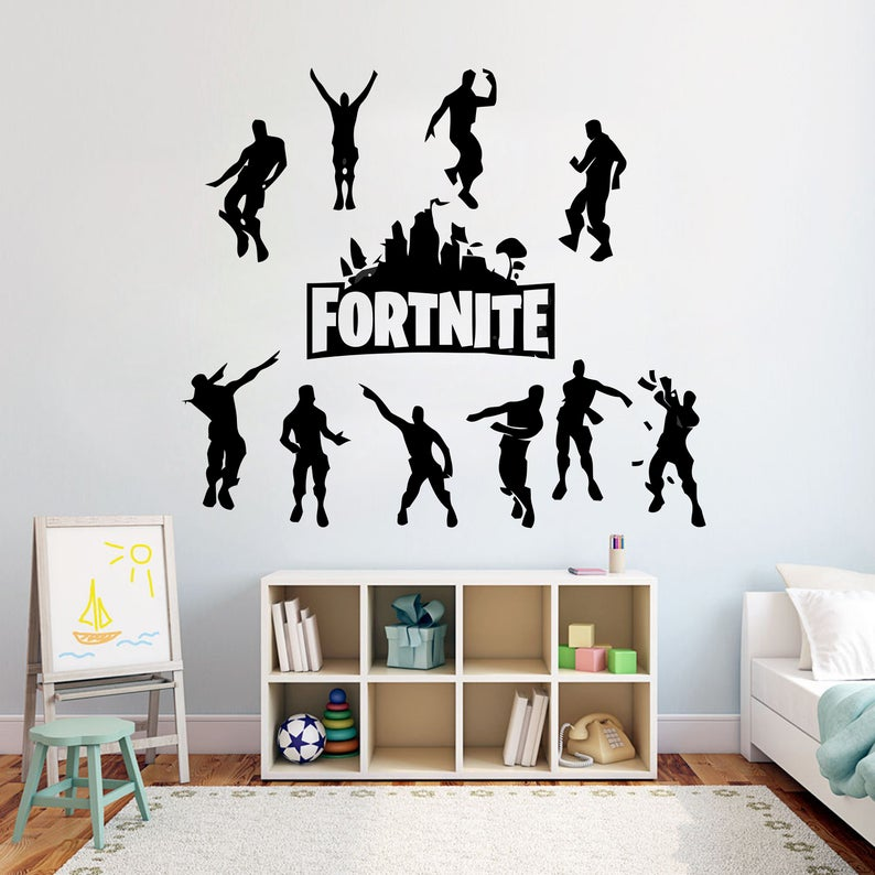 Gamer Controller Video Game Wall Decals Customized For Kids Etsy Decoracion De Unas Moldes