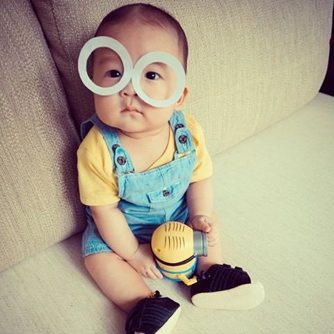 Baby Minion Costume Holidays And Occasions Pinterest Baby