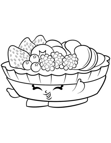 fifi fruit tart shopkin mlarbok