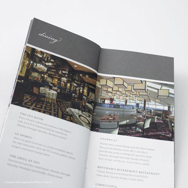 Hotel Brochure Design | Hotels & Restaurants | Pinterest