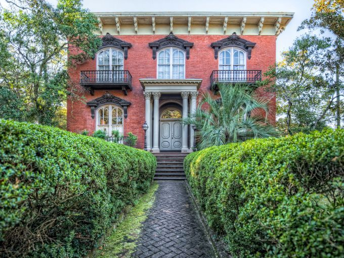 The Mercer House Is The Site Of Two Infamous Deaths Midnight In
