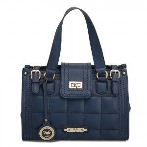 6dcdf81655 The 19V69 Italia Sophie Quilted Satchel is one of a kind.