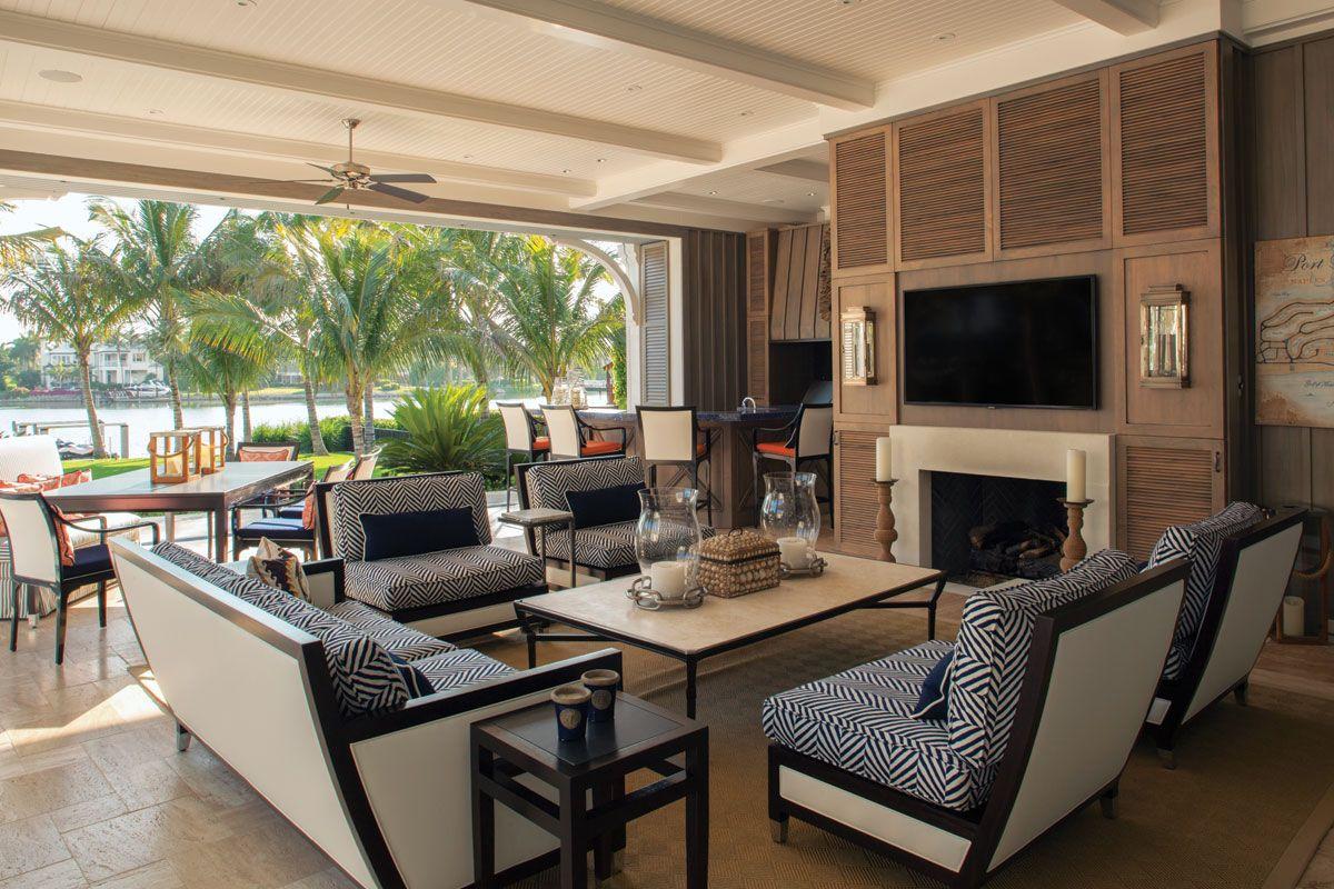 Triple Vision In Old Naples Florida design, Interior