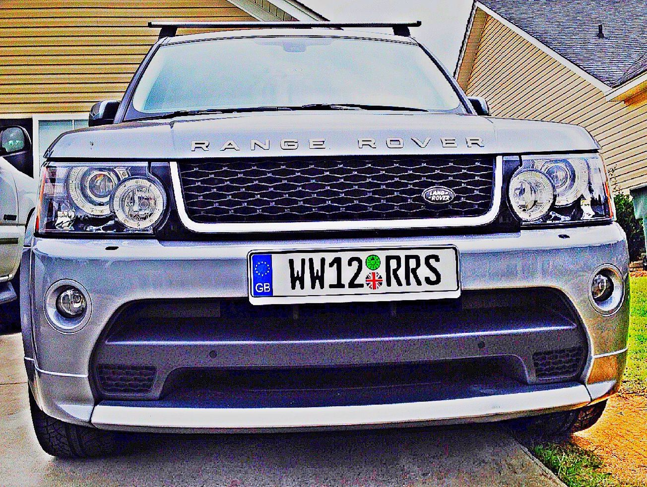 Great Britain Eu Style License Plate Cars With Custom