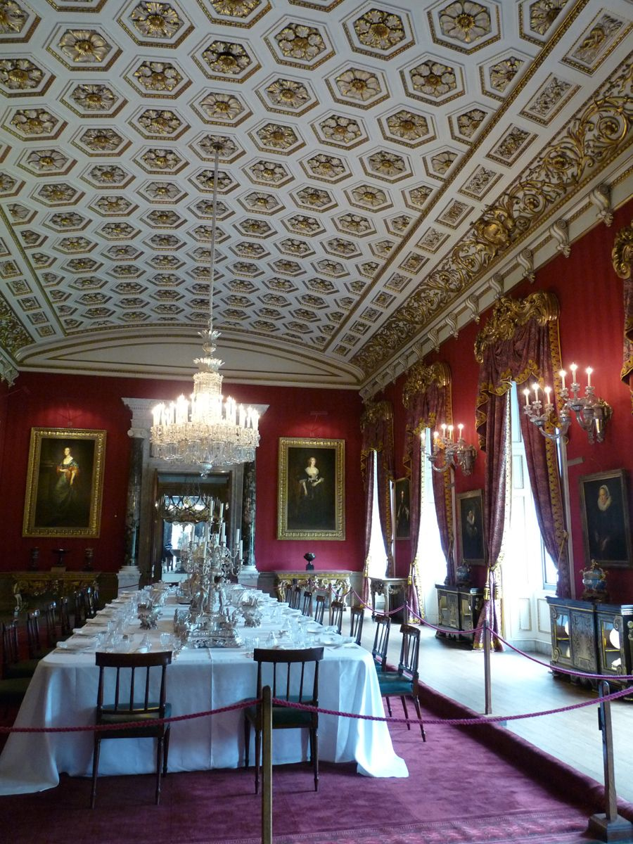 Chatsworth House Room: State Rooms, Chatsworth House. Pure Silk Tissue On A