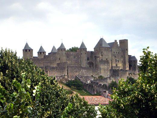 Chateau de Carcassonne Aude France