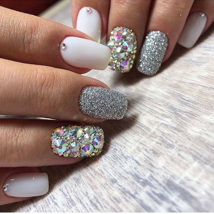 52 Pretty Nail Art Patterns Decorated and Simple 2019, Page