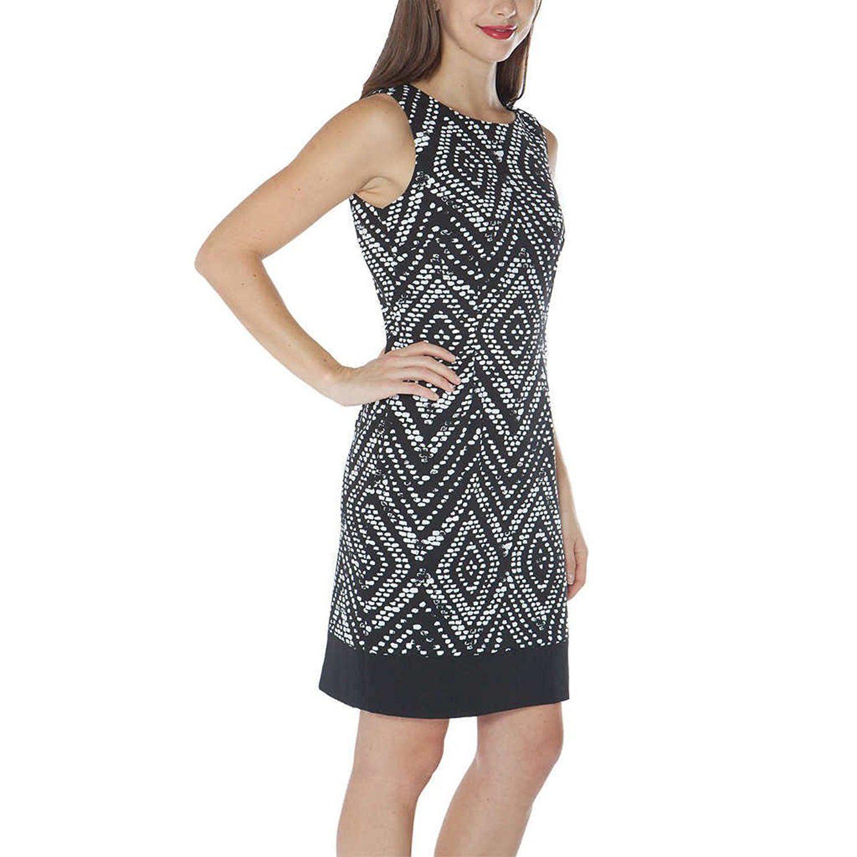 Mario Serrani Italy Ladies  Size 4 Sleeveless Shift Dress 2800d2e3b