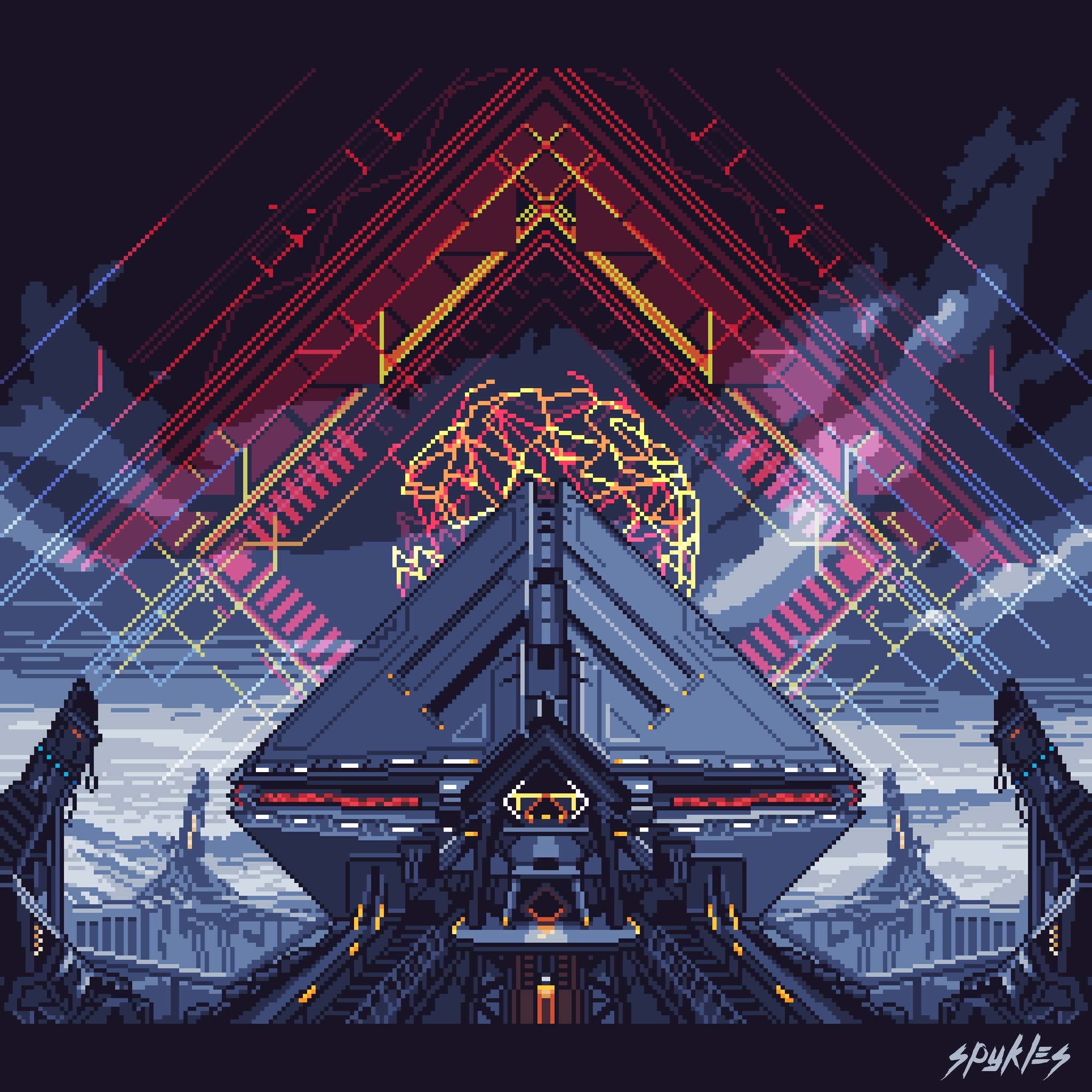 Warmind Pixel art, Destiny game, Destiny bungie