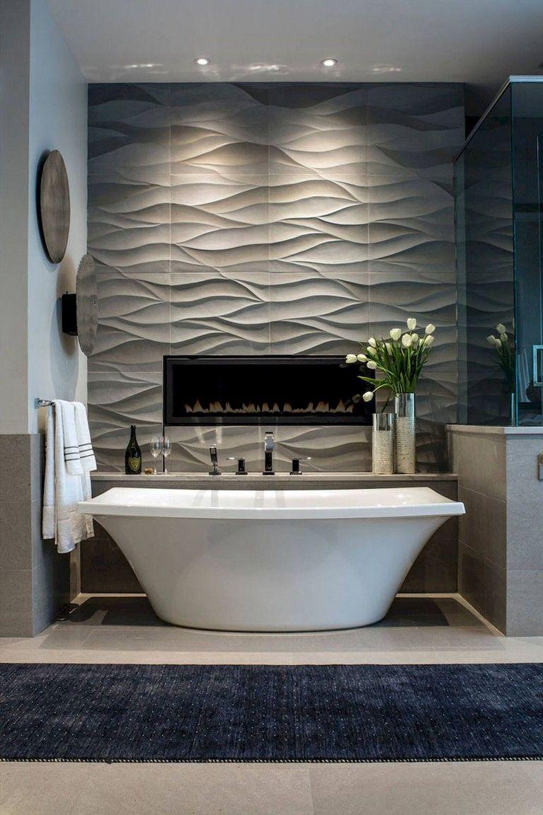 80 Elegant Master Bathroom Remodel Ideas With Images Modern Master Bathroom Bathroom Interior Design Farmhouse Master Bathroom