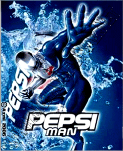 Pepsi Man Game Free Download For Pc Pepsiman Game Disclaimer Appears On The Packaging Of The New Running Action Game From S Pepsi Man Man Games Pepsi