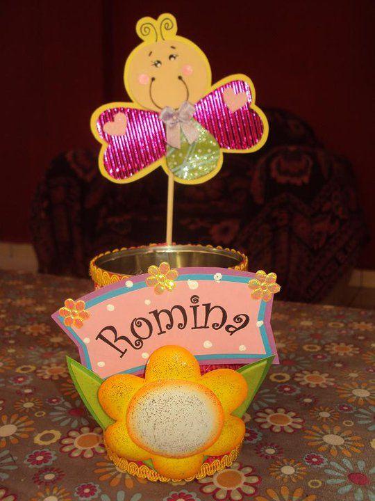 Yute Goma Eva Etc Latas Decoradas Souvenirs Para Ninos De Jardin