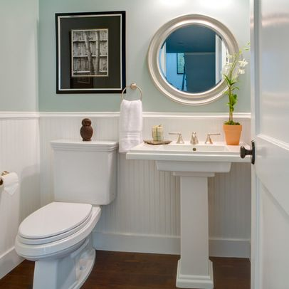 Bathroom Design Ideas With Beadboard basement powder room. bead board design ideas. image inspiration