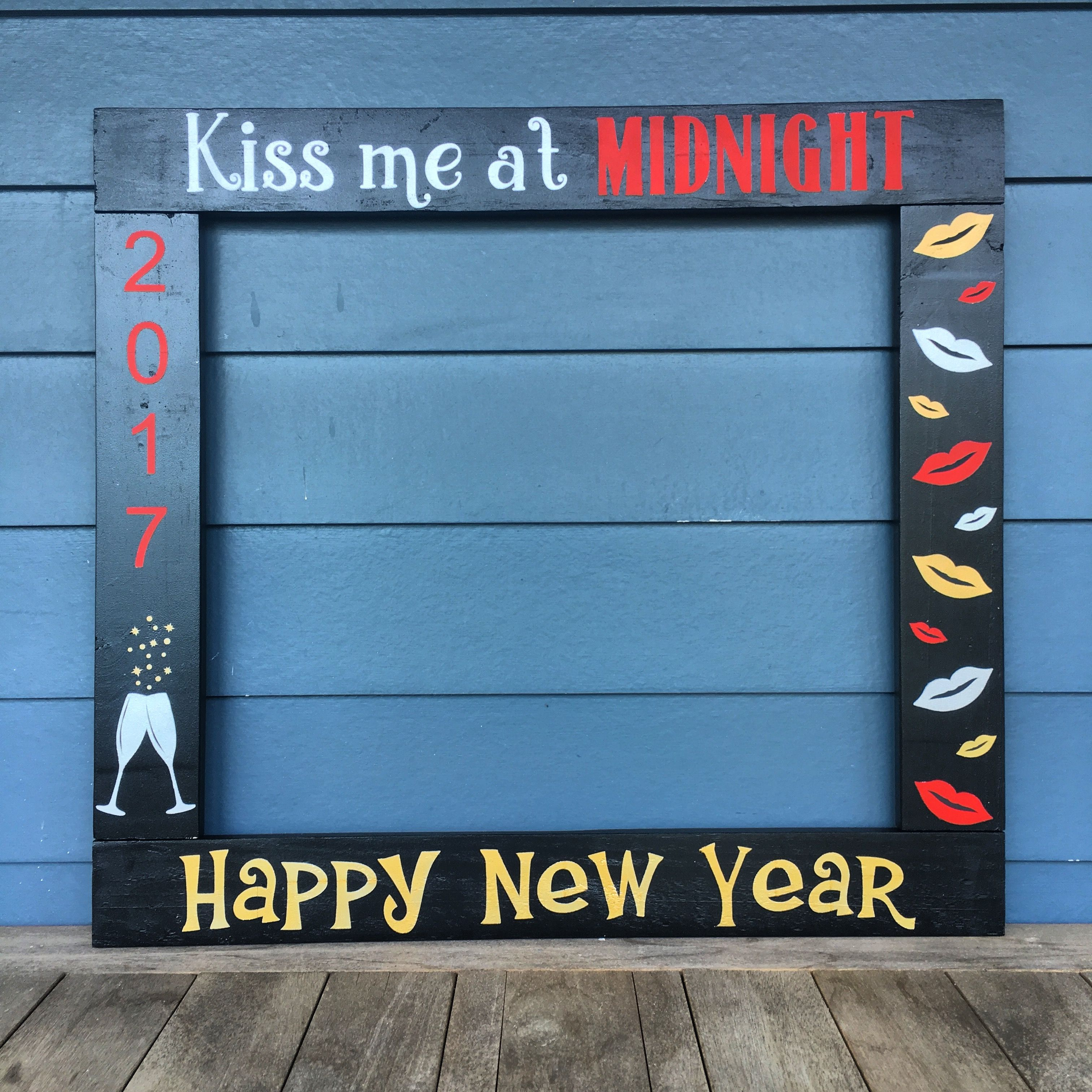 New Years Photobooth Photo Booth Frame Prop New Years Party