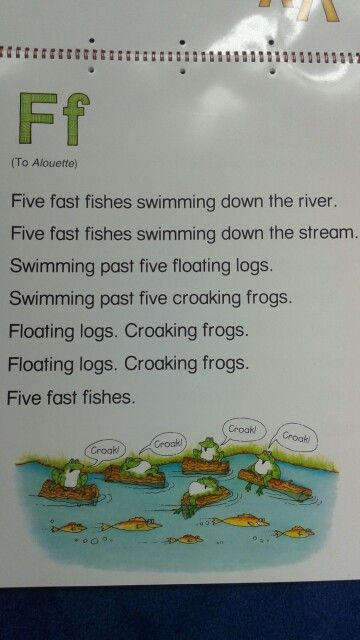 F Alliteration Poem   letter of the week   Pinterest ...