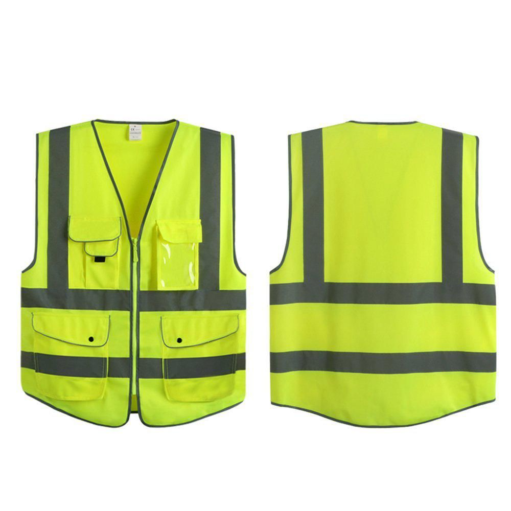 G f products large yellow 7pockets class 2 high