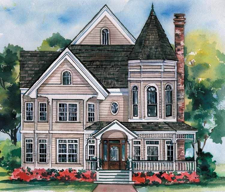 4 Story Victorian House Plans