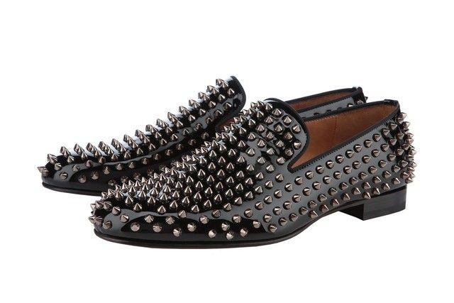 f96fb60d32 #shoes Christian Louboutin men's expanding Sapatilhas, Sapatos, Sapatos Com  Espigão, Sapatos Marca