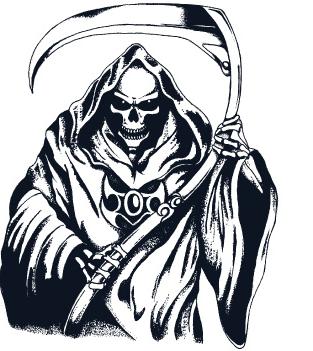 Grim Reaper Clipart 24188 Grim Reaper Reaper Grim Reaper Art