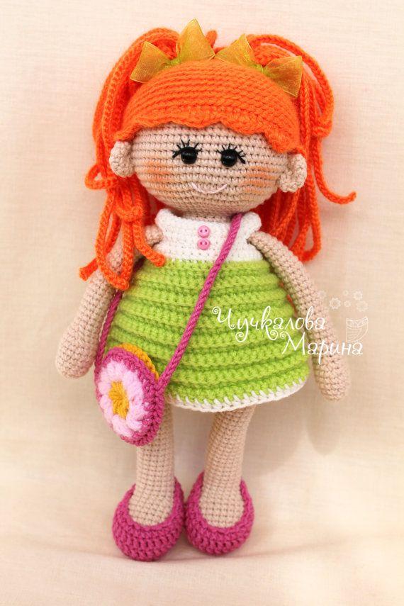 PATTERN Pumposhka doll PDF crochet doll pattern | Muñecas, Muñecos ...
