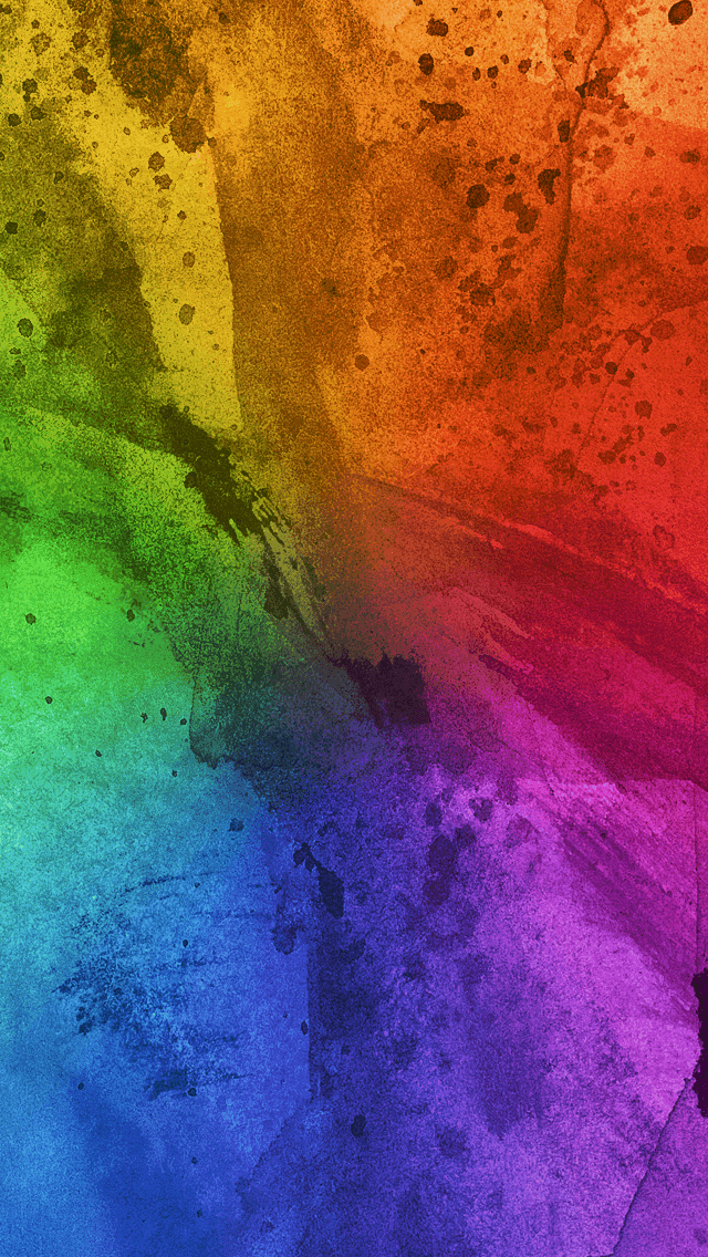 Colorful Paint Brush Strokes Wallpaper HD 4K for Mobile